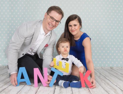 Marta, Rafał i Antoś