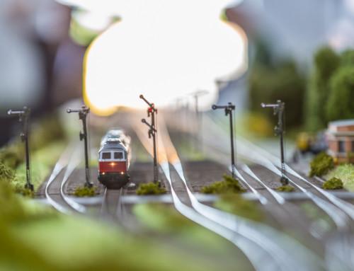Wystawa modeli kolejowych